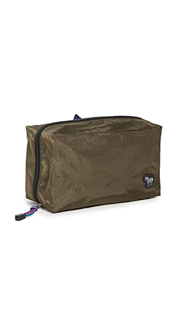 PS Paul Smith Camo Zebra Washbag