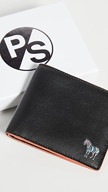 PS Paul Smith Zebra Billfold Wallet