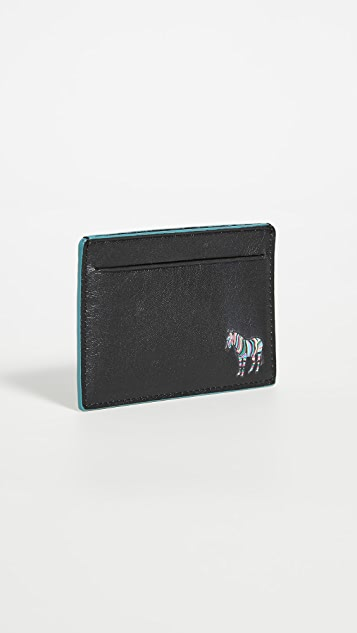 PS Paul Smith Zebra Card Holder