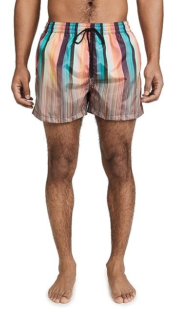 PS Paul Smith Classic Multi Stripe Boardshort