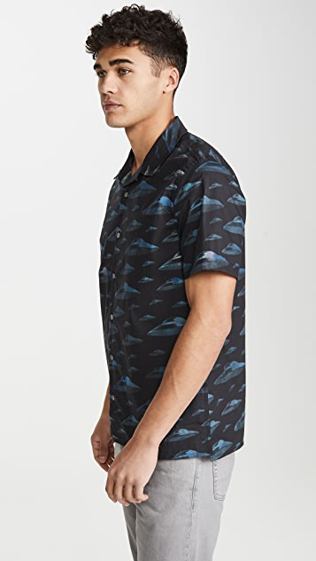 PS Paul Smith Short Sleeve Casual Fit UFO Shirt