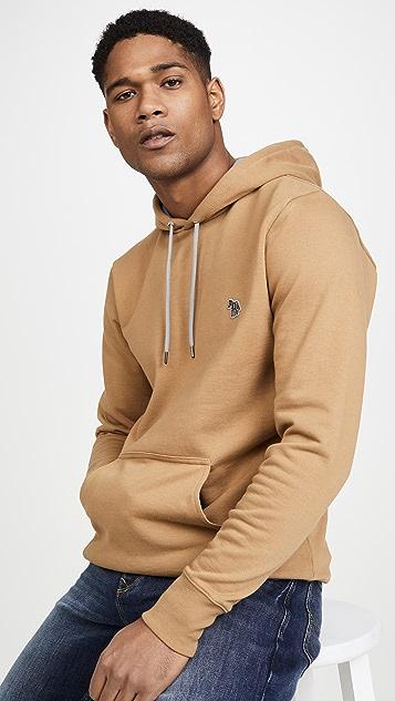 PS Paul Smith Hooded Sweatshirt With Zebra Badge