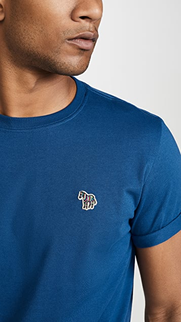 PS Paul Smith T-Shirt with Zebra Badge