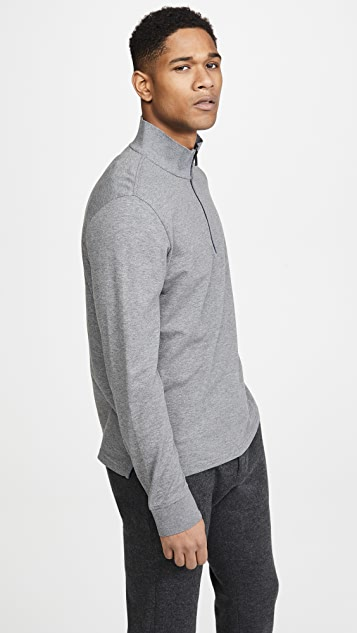 PS Paul Smith Long Sleeve Quarter Zip Polo Shirt