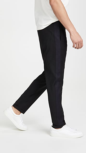 PS Paul Smith Drawstring Waist Trousers With Side Strip