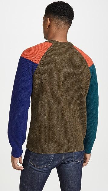 PS Paul Smith Raglan Sleeve Cotton Sweater