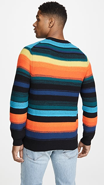 PS Paul Smith Bright Stripe Cotton Sweater