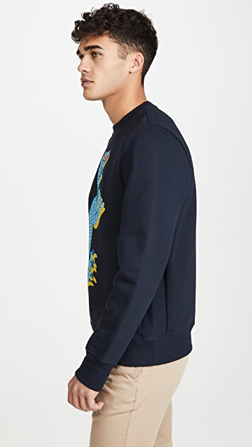 PS Paul Smith Dino Print Sweatshirt