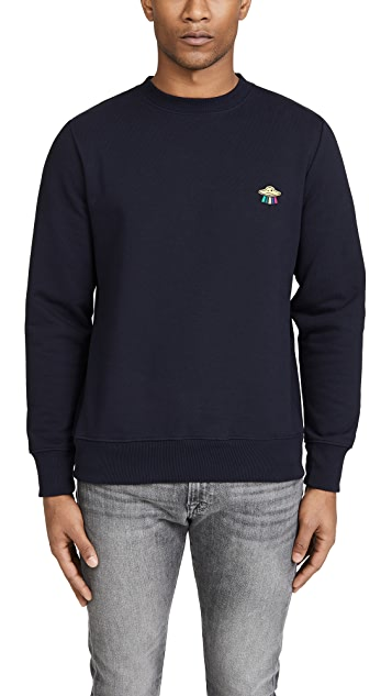 PS Paul Smith UFO Print Sweatshirt