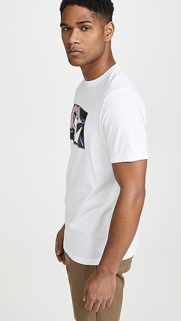PS Paul Smith Reg Fit T-Shirt Jet
