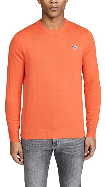 PS Paul Smith Men's Zebra Pullover