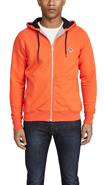PS Paul Smith Regular Fit Zip Hoodie
