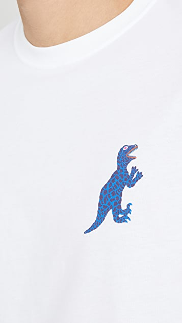 PS Paul Smith Reg Fit Small Dino Tee