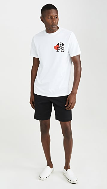 PS Paul Smith Reg Fit Tee Love PS
