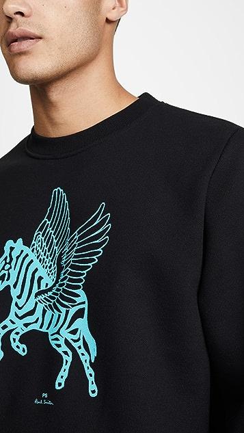 PS Paul Smith Flying Zebra Sweatshirt