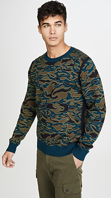 PS Paul Smith Men's Crew Neck Pullover