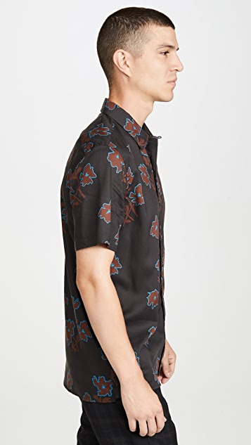 PS Paul Smith Floral Print Tailored Fit Shirt