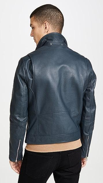 PS Paul Smith Mens Biker Jacket