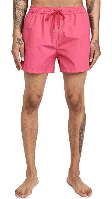 PS Paul Smith Swim Shorts With Side Stripe