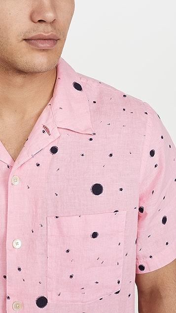 PS Paul Smith Short Sleeve Paint Splatter Shirt