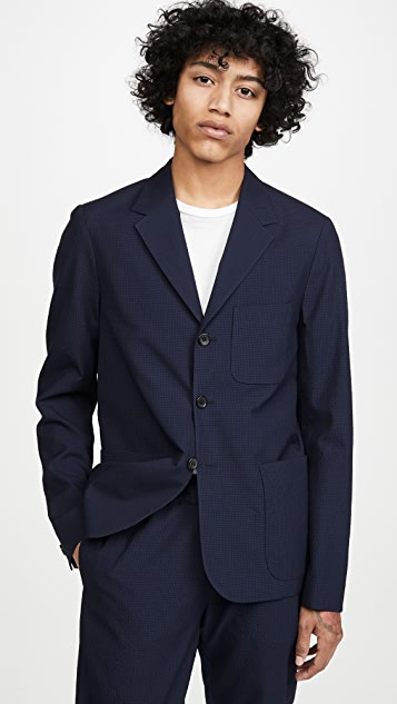 PS Paul Smith Unconstructed Seersucker Sportcoat