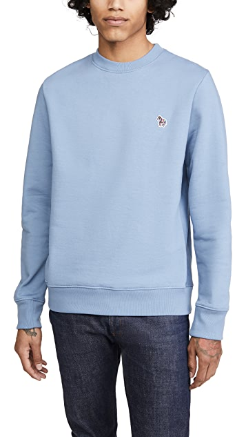 PS Paul Smith Zebra Crew Neck Sweatshirt