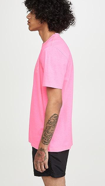 PS Paul Smith Logo Print Neon T-Shirt