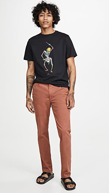 PS Paul Smith Drum Skeleton T-Shirt