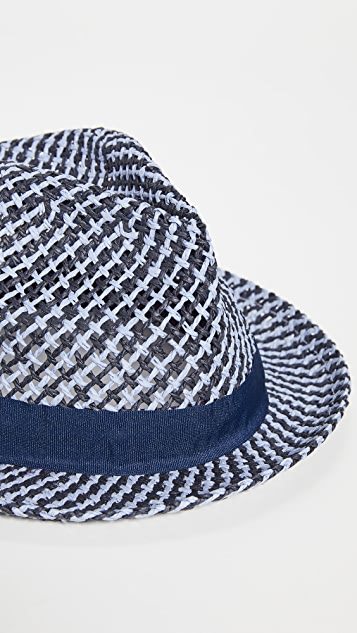 PS Paul Smith PS Two Straw Trilby Hat