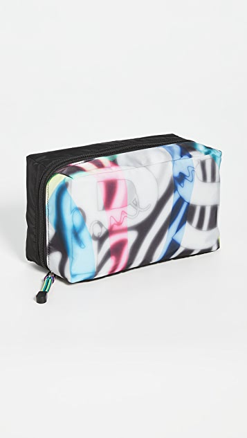 PS Paul Smith Zebra Print Wash Bag