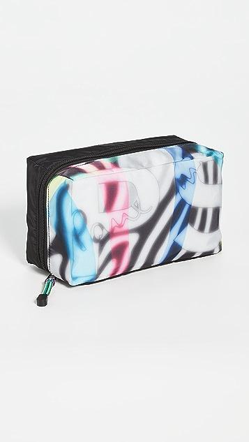 PS Paul Smith Zebra Print Wash Bag