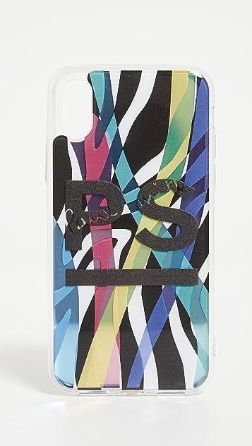 PS Paul Smith Neon Print iPhone X Case