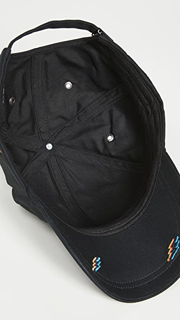 PS Paul Smith Embroidered Fluro Flash Baseball Cap