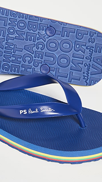 PS Paul Smith Dale Flip Flops