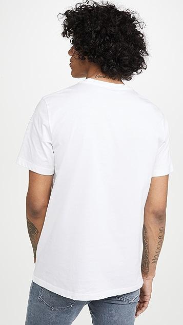 PS Paul Smith Men's Reg Fit T-Shirt Skulls