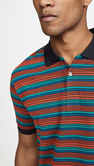 PS Paul Smith Mens Reg Fit Polo Shirt