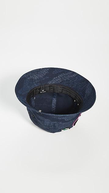 PS Paul Smith PS Camo Badge Bucket Hat