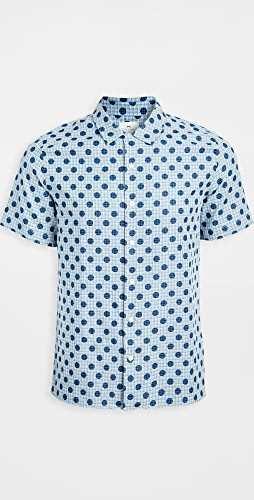 PS Paul Smith - Casual Fit Polka Dot Short Sleeve Shirt