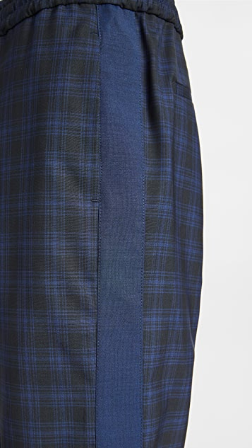 PS Paul Smith Blue Drawcord Trousers
