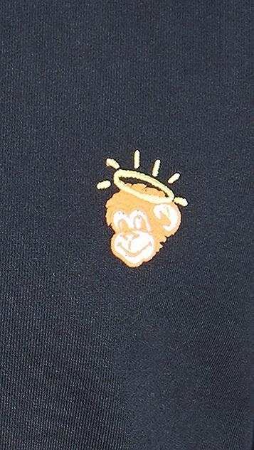 PS Paul Smith Regular Fit Monkey Sweatshirt