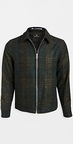 PS Paul Smith - Wool Zip Up Short Jacket