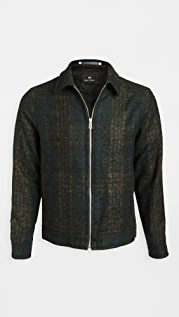 PS Paul Smith Wool Zip Up Short Jacket