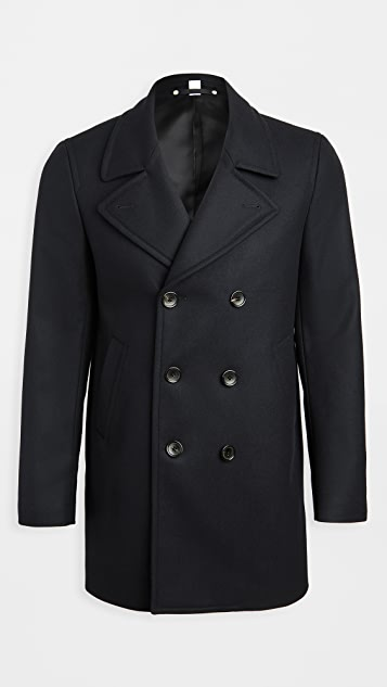 PS Paul Smith Wool Double Breasted Coat