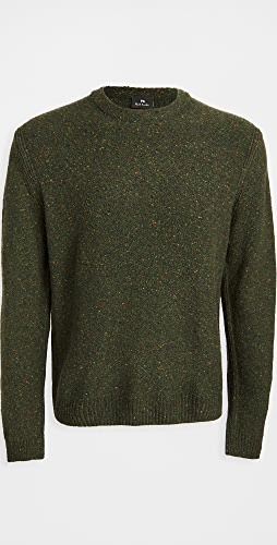 PS Paul Smith - Wool Donegal Crew Neck Sweater
