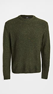 PS Paul Smith Wool Donegal Crew Neck Sweater