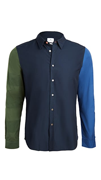 PS Paul Smith Multi Color Button Down Shirt