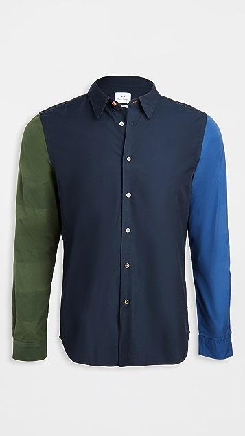 PS Paul Smith Multi Color Button Down Shirt