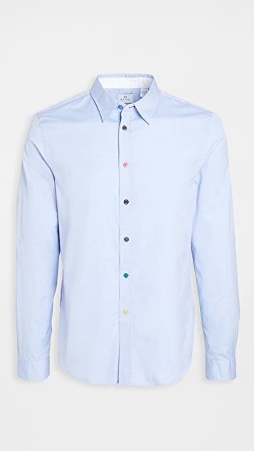 PS Paul Smith Colored Buttons Shirt