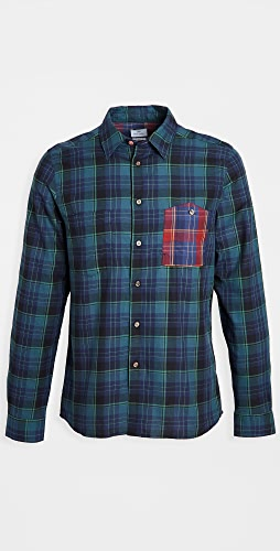 PS Paul Smith - Multicolor Plaid Button Down Shirt