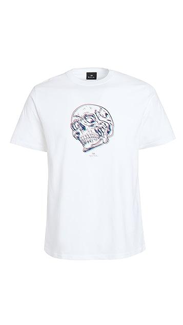 PS Paul Smith Regular Fit Skull T-Shirt